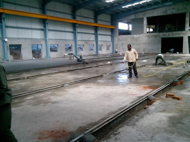 Vdf Flooring Or Vacuum Dewatered Flooring Tremix Flooring